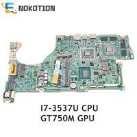 Nokotion nbmal11002 nb. mal11.002 acer aspire V5-572 V5-572G 노트북 마더 보드 da0zqkmb8e0 gt750m gpu sr0xg I7-3537U cpu