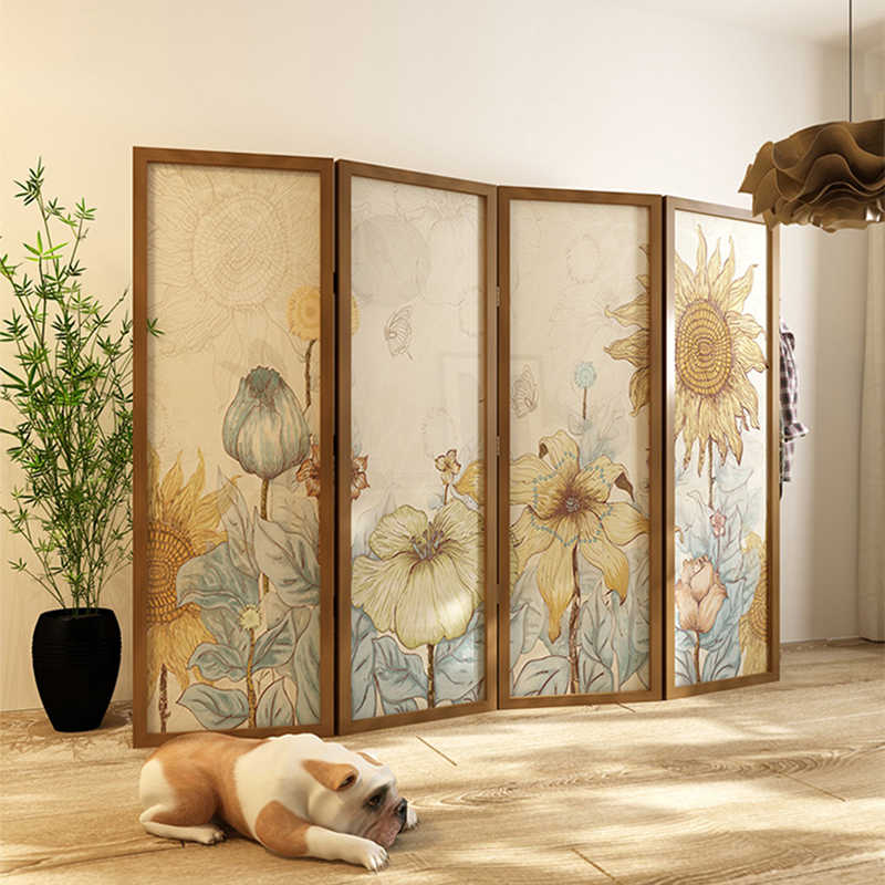 Modern Fashion Partition Screen For Living Room Can Be Customized The Pattern Room Divider Screens Room Dividers Aliexpress