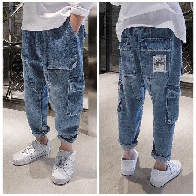 Boys Loose Spring Jeans
