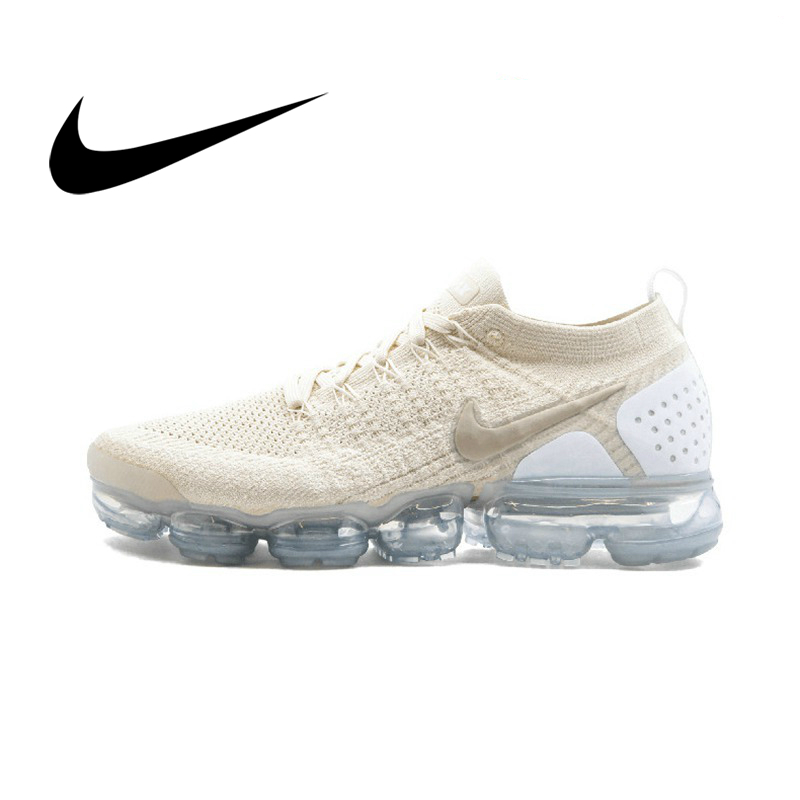 Original Authentic NIKE Air Max Vapormax Flyknit Women's Running Shoes Outdoor Sports Shoes Low To Help Shock Comfort 942843