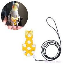 Попугай пеленки регулируемый портативный одежда для животных голубь попугаи Летающий костюм птица пеленки принадлежности для птиц XS/S/M/L Размер C42