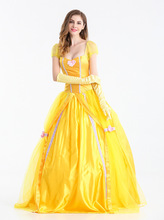 Halloween Snow White Cosplay Costumes for Women Wear Adult Fantasia Carnival Party Cartoon Princess Dress