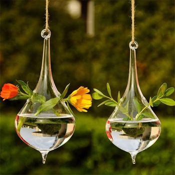 Home Garden Hanging Terrarium and Glass Ball for Growing Flower Plant Indoor