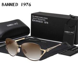 HD polarized fashion driving Sunglasses Metal frame luxury trend Women's Latest new sun Glasses ladies oculos lunette de soleil(China)