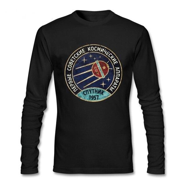 Groupe équipe soviétique rétro hommes t-shirts russie CCCP youri gagarine t-shirt spoutnik V01 programme dexploration spatiale t-shirts topshirts
