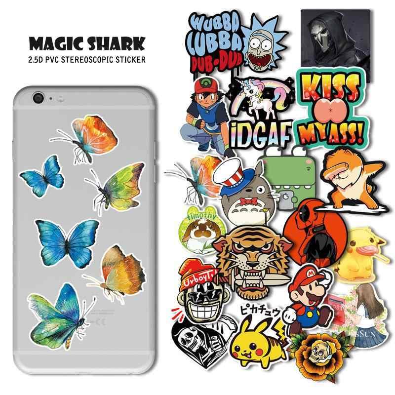 マジックサメ 3 メートル蝶ウサギナルトマリオピカチュウポケモン用 IQOS Smok Vaporesso 吸う Pod iPhone iPad マウス