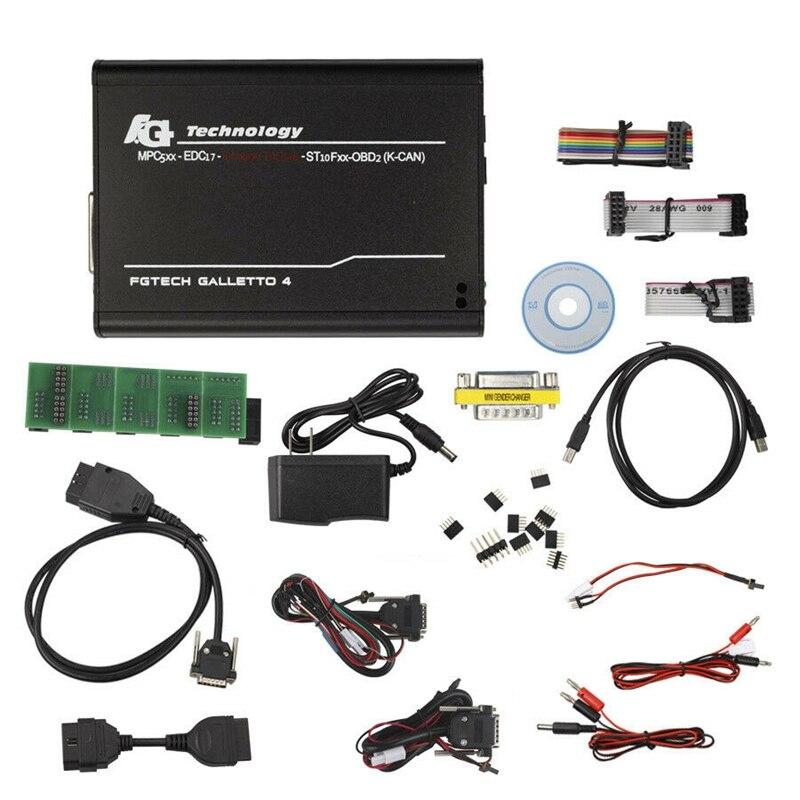 Outil de réglage de puce Ecu pour camion de voiture V54 Fgtech Galletto 2 Master 0475 outil de Scanner de mise à niveau (prise US)