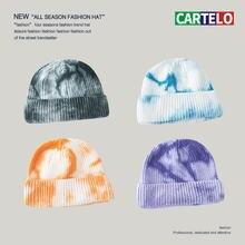Новинка шапка cartelo вязаная с завязкой женская уличная в стиле