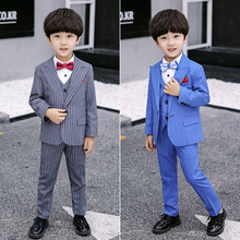 Formal Flowers wedding Boys Suit Kids Wedding Party children Blazer