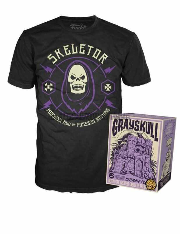 Pop Magliette Skeletor Nel Castello di Grayskull Giochi per Bambini Box Funko Negozio Esclusivo 500 Pcs
