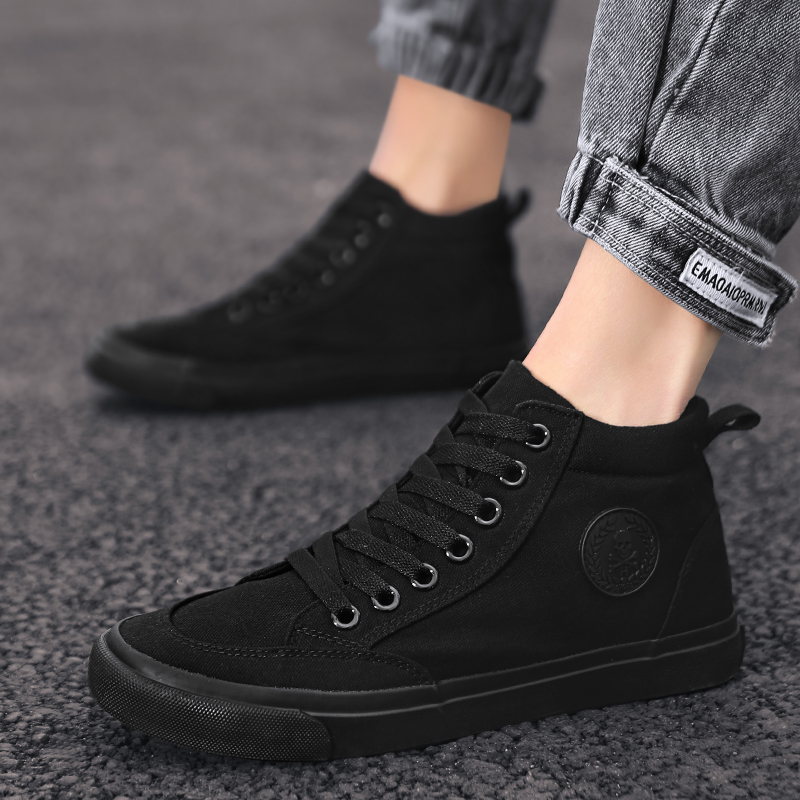Men Causal Shoes Gradient Mesh Male Men Casual Lightweight Canvas Shoes Lace-up Flats Comfortable Breathable Sapato Masculino