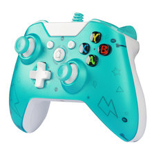USB Wired Gamepad Controller for Microsoft Xbox one PC Game Controller for Xbox one Joystick Gamepad with Dual Vibration Motor with tracking number wired game controller gamepad for n gc joystick with one button for gamecube for wii