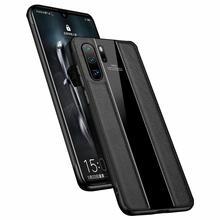 新しい完全フィットなめらかなミニマリスト純粋なレザー携帯電話ケースhuawei 1080p 30 p30pro p30liteビジネス電話ケース