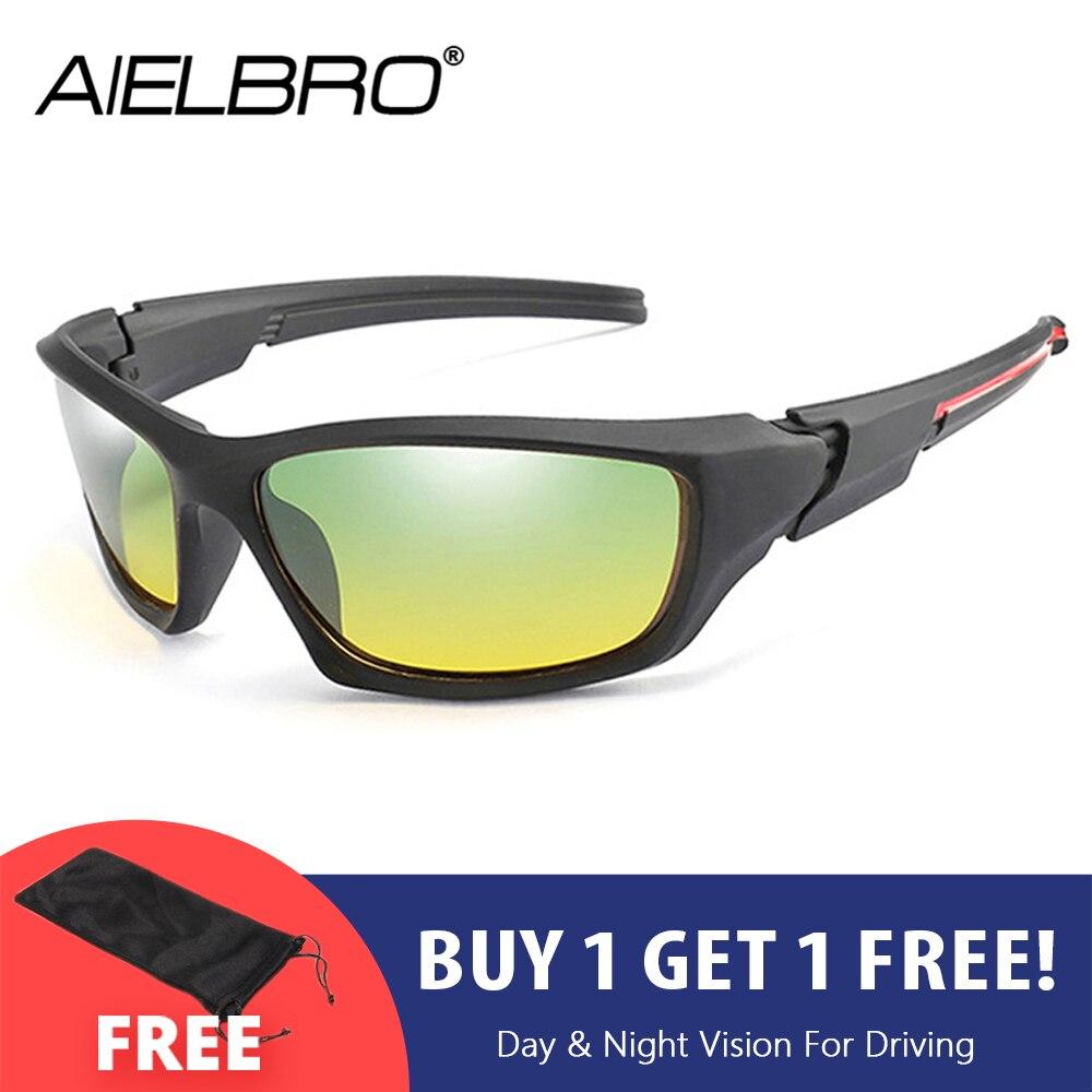 AIELBRO поляризационные солнцезащитные очки для вождения ночного видения женщин и