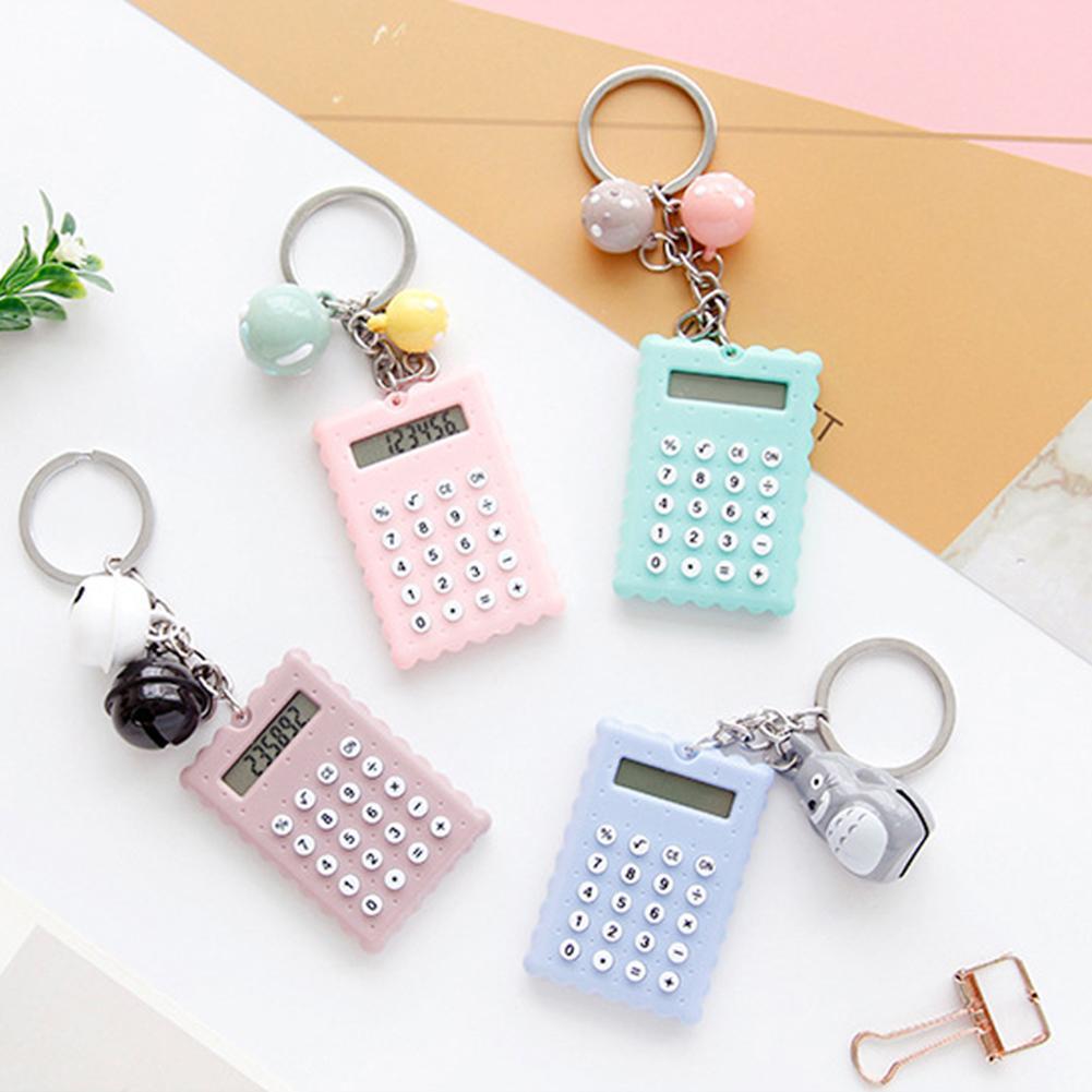 Mini Calculator Handheld Pocket Type Calculator Super Thin Calculators For School Student Kids Supplies
