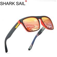SHARK SAIL Polarized Sunglasses Men's Driving Shades Male Sun Glasses For Men Re
