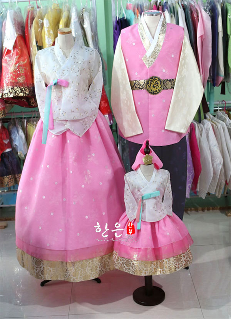 South Korea Imported High-end Fabric / Latest Family Suit / Korean National Costume