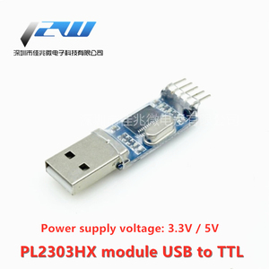 USB to TTL Middle Nine Upgrade Brush Board PL2303HX Module STC MCU Download Line Brush Line