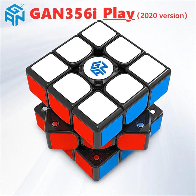GAN356i Play 3x3x3 Magic Cube GAN356 I Play 3x3 Speed Cube Gans 3x3x3 Cube Magnetic Competition Cube GAN 356 I Puzzle Cube