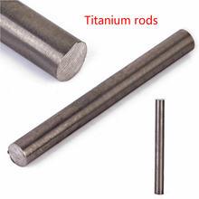 Титановый стержень 1 металлический диаметром 10 мм и длиной