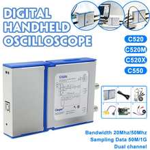 Oscilloscoop Digitale Virtuele Handheld Oscilloscoop kan Sluit Android & PC 2 Kanaal Bandbreedte 20 Mhz/50 Mhz Sampling Data 50 M/1G(China)