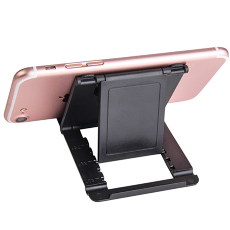 Phone Holder Desk Stand Support Mobile Phone For IPhone Xiaomi Accessories Desktop Cell Stand Plastic Foldable Desk Holder Stand