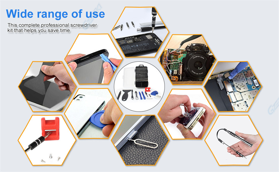 GZERMA screwdriver sets wide range of use