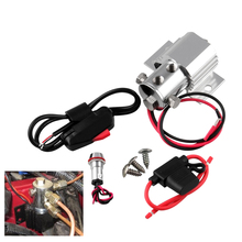 Tire Locker For Ford Mustang Line Lock Roll Control Car Brake Kit 12V 24V +Wire Valve+Fuse Holder+Indicator Light