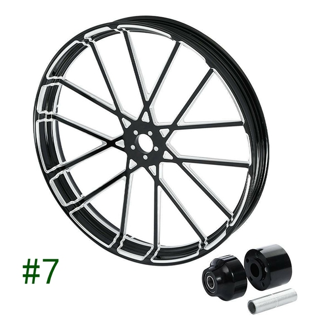 "Motorcycle 26"" x 3.5"" Front Wheel 2"