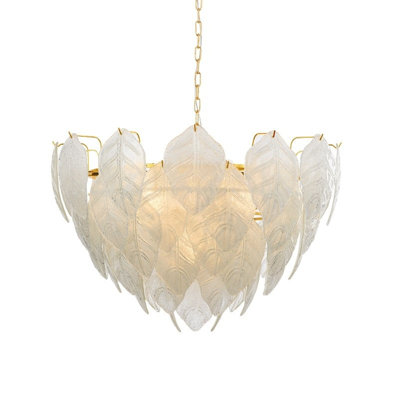 Post modern LED chandelier lighting Glass luxury hanging lamp Nordic living room luminaires Hotel Lobby Home Deco fixtures in Chandeliers from Lights Lighting