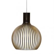 Criativo minimalista nordic preto gaiola de madeira pingente lâmpada designer moderno e27 lâmpada pingente luzes para foyer sala estar barra