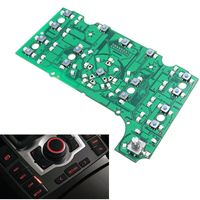 1pcs New 3G MMI Multimedia Interface Control Panel Circuit Board For Audi A8 A8L S8 2006 2007 2008 2009 2010 2011 PVC and Metal