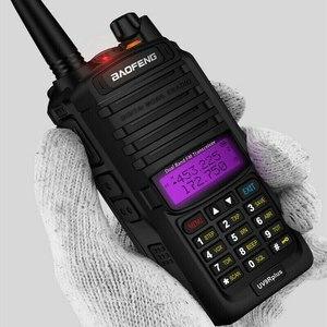 Hardcore 10 Вт Baofeng UV-9R plus портативная рация UV9R CB Ham Радио 9rhp двухдиапазонный hf приемопередатчик 4800 мАч двухстороннее радио