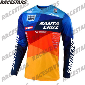 Santa Cruz Cycling Clothing Racing Downhill Jersey Mountain Bike Motorcycle MTB Cross Country Ciclismo Hombre MX BMX DH