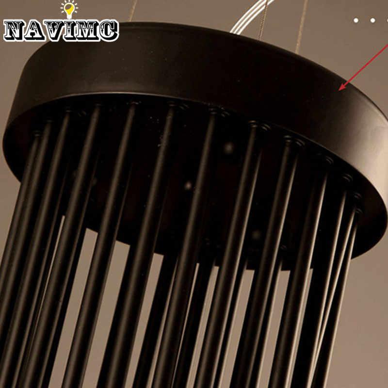 อเมริกัน Country Loft จี้ Retro Minimalist พิพิธภัณฑ์กาแฟบาร์เหล็กร้านอาหาร Spiral บันไดโคมไฟ E14 หลอดไฟ