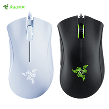 Original Razer DeathAdder Essential Wired Gaming Mouse Mice  Optical Sensor 5 Independently Buttons For Laptop PC Gamer