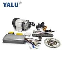 Yalu triciclo bldc rickshaw motor kit de conversão para três roda ebike 1000 w 48 v trike elétrico kit conversão bm1418zxf|Motor p/ bicicleta elétrica| |  -