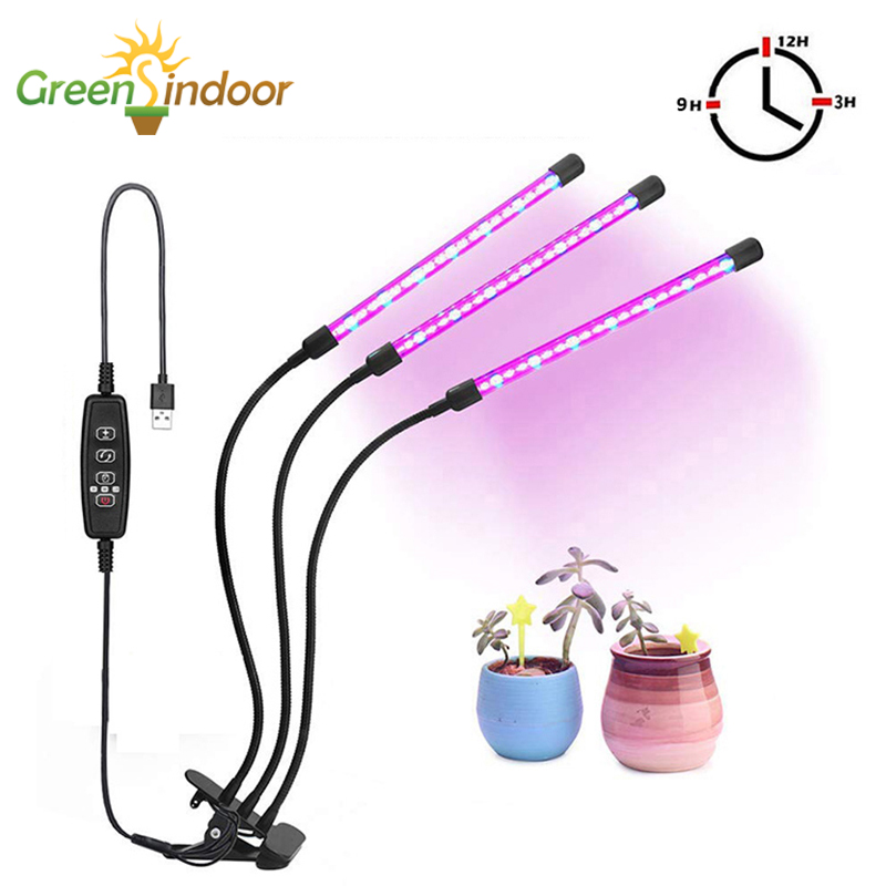 Growing Lamp Full Spectrum LED Grow Light Phyto Lamp For Plants LED Growing Lights For Indoor Growth For Herbs With Controller