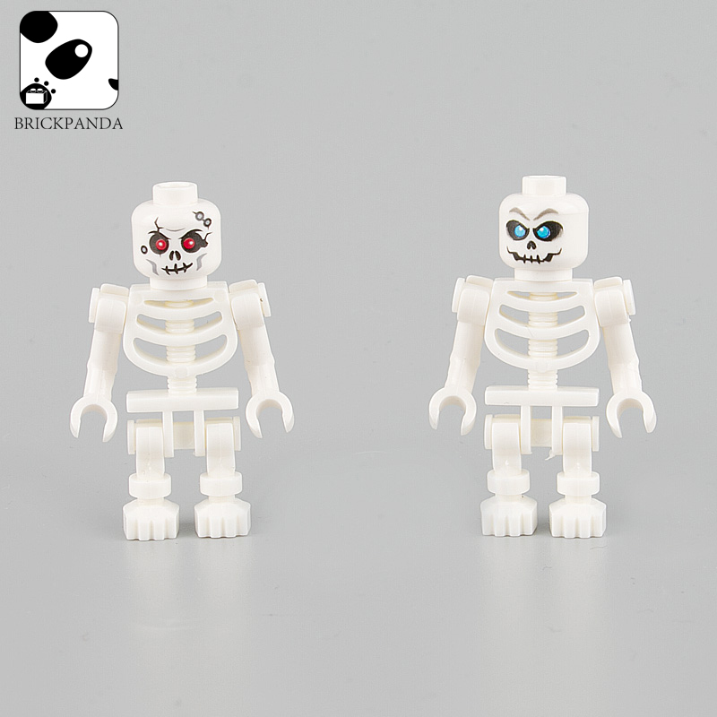 Terrifying Hallowmas Skeleton Soldiers Weapons Blocks City Figures Parts Accessories Ghost Zombie Building Blocks Toys Children