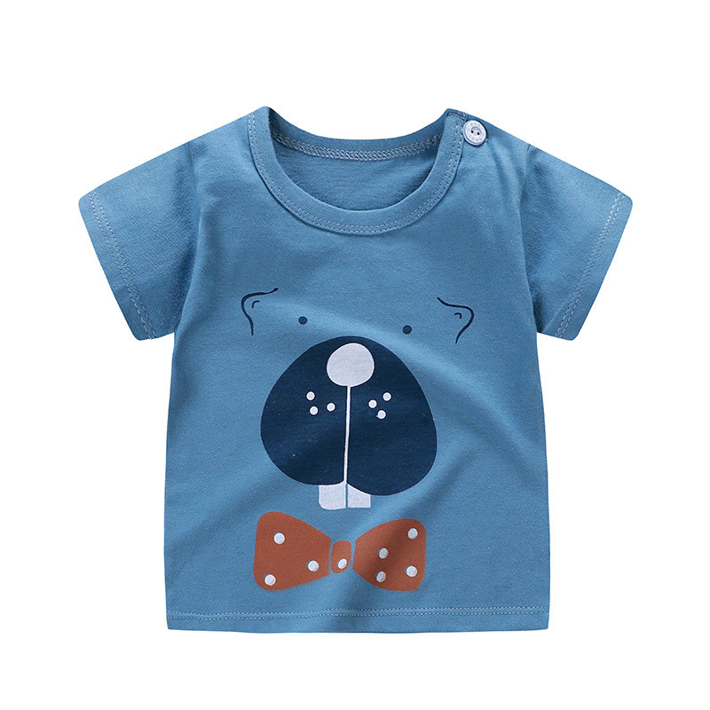 boy's cotton t-shirt teddy