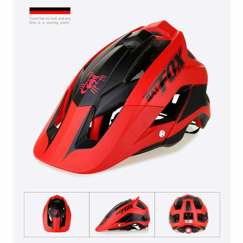 2020 Hot Seller MTB Road Bike Cycling Helmet 57cm-62cm EPS Integrally Helmet One-Piece Black Green Red White Blue