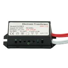 AC 220V para 12V 20-50W LED Tensão Conversor Transformador para a Iluminação de Halogéneo Lâmpada Eletrônica LEVOU fonte de Alimentação do transformador