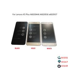 شاشة LCD أصلية + مجموعة شاشة رقمية تعمل باللمس مع استبدال الإطار قطع غيار لينوفو K5 Plus A6020A46 A6020l36 A6020l37