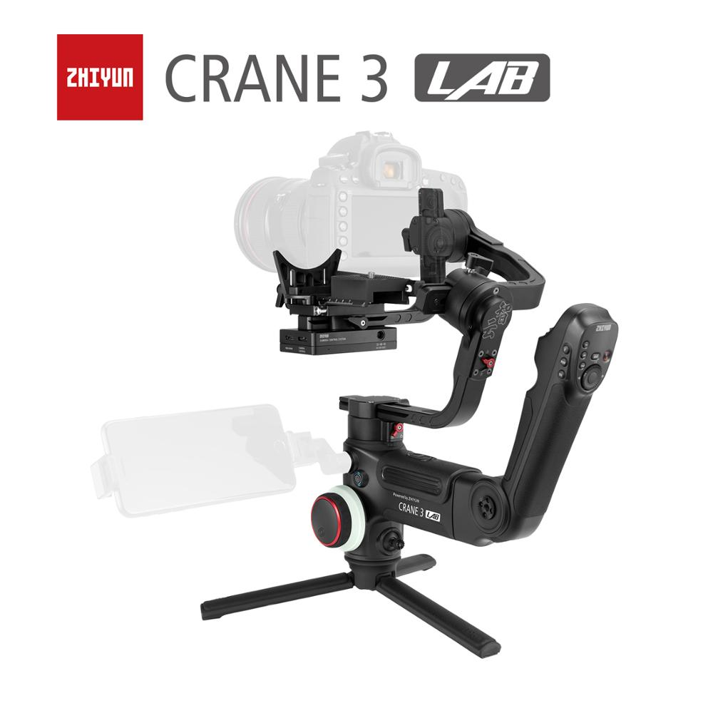 ZHIYUN Official Crane 3 LAB 3 Axis Handheld Gimbal Wireless 1080P FHD Image Transmission Camera Stabilizer for DSLR VS Crane 2-in Handheld Gimbals from Consumer Electronics