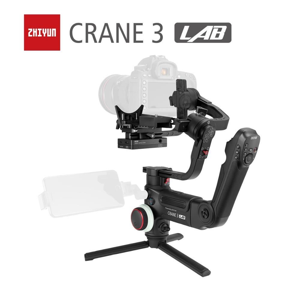 ZHIYUN grúa oficial 3 laboratorio 3 ejes cardán de mano inalámbrico 1080P FHD estabilizador de la cámara de transmisión de imagen para DSLR del Crane 2