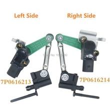 7p0616213 frente direita & esquerda para vw touareg 7p para porsche cayenne s 958 92a controle farol sensor de nível 7p0616214