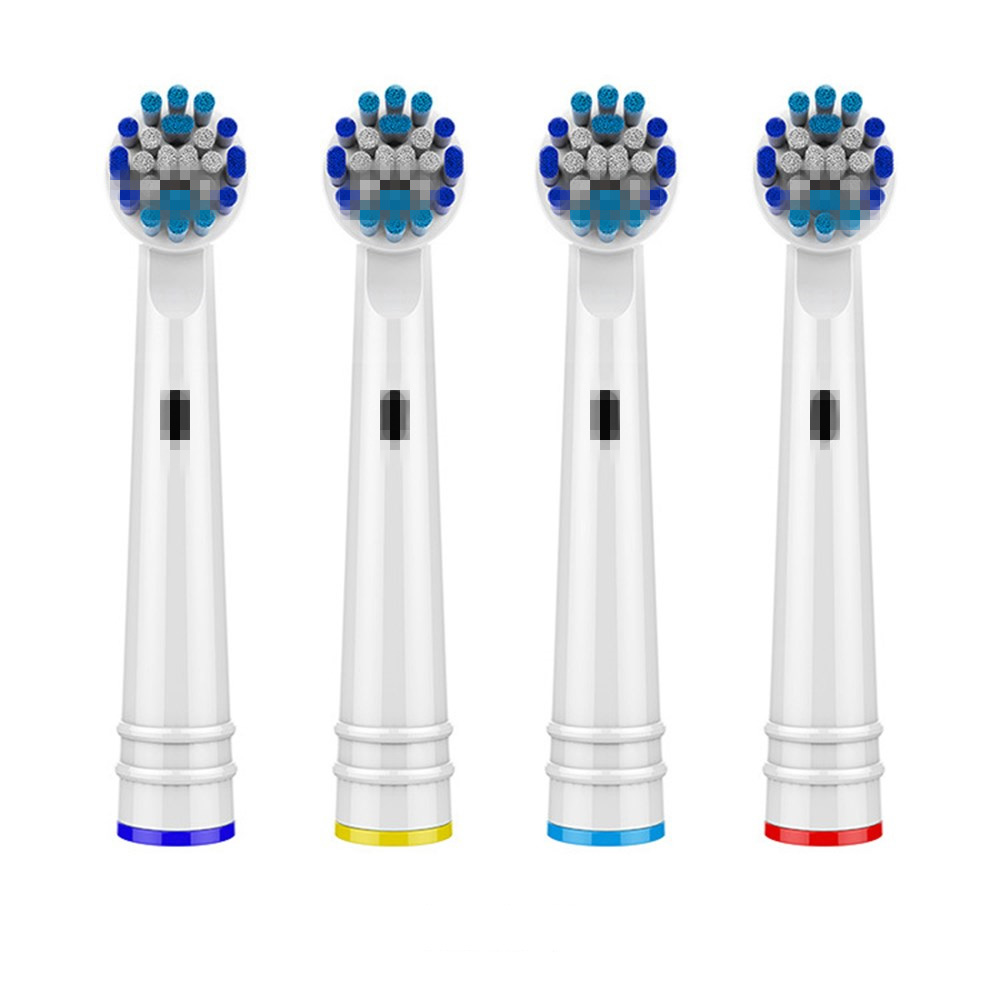 4PCS Electric Tooth Brush Heads Replacement For Braun Oral B Soft Bristle,Vitality Dual Clean/Professional Care SmartSeries image