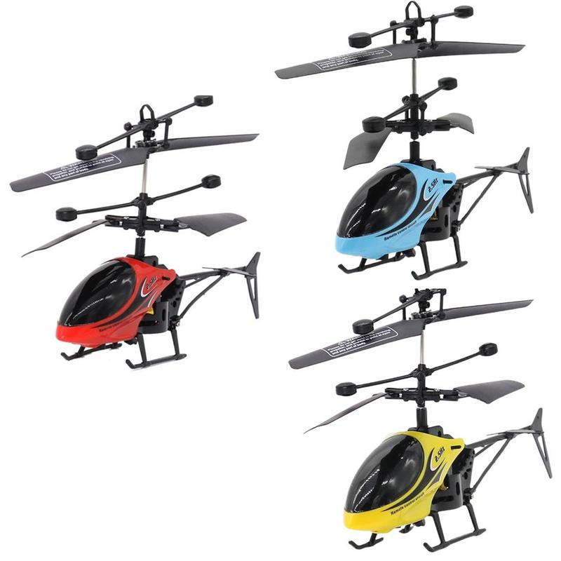 RC901 2ch Mini Two-way Remote Control Helicopter Radio Control Remote Aircraft <font><b>Micro</b></font> <font><b>2</b></font> Channel Educational Toy For Children image