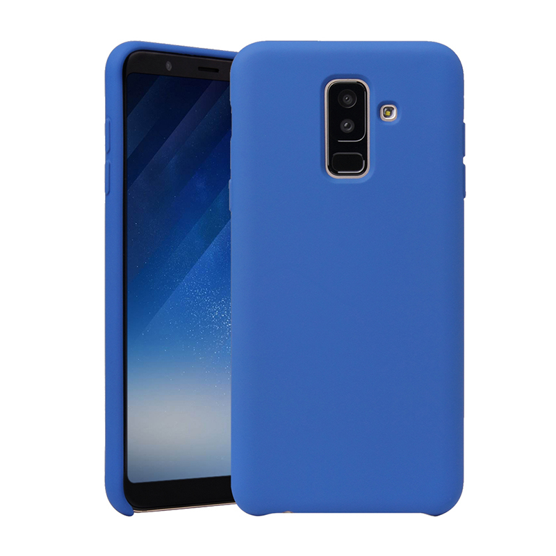 cover samsung a6 plus silicone