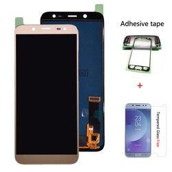 Do Samsung Galaxy J6 2018 J600 J600F J600Y wyświetlacz LCD i szkło dotykowe montaż pannel wersja TFT może regulować jasność